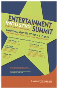 AC10-119 LSB Entertainment Industry Summit Poster