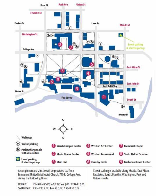 st lawrence university map