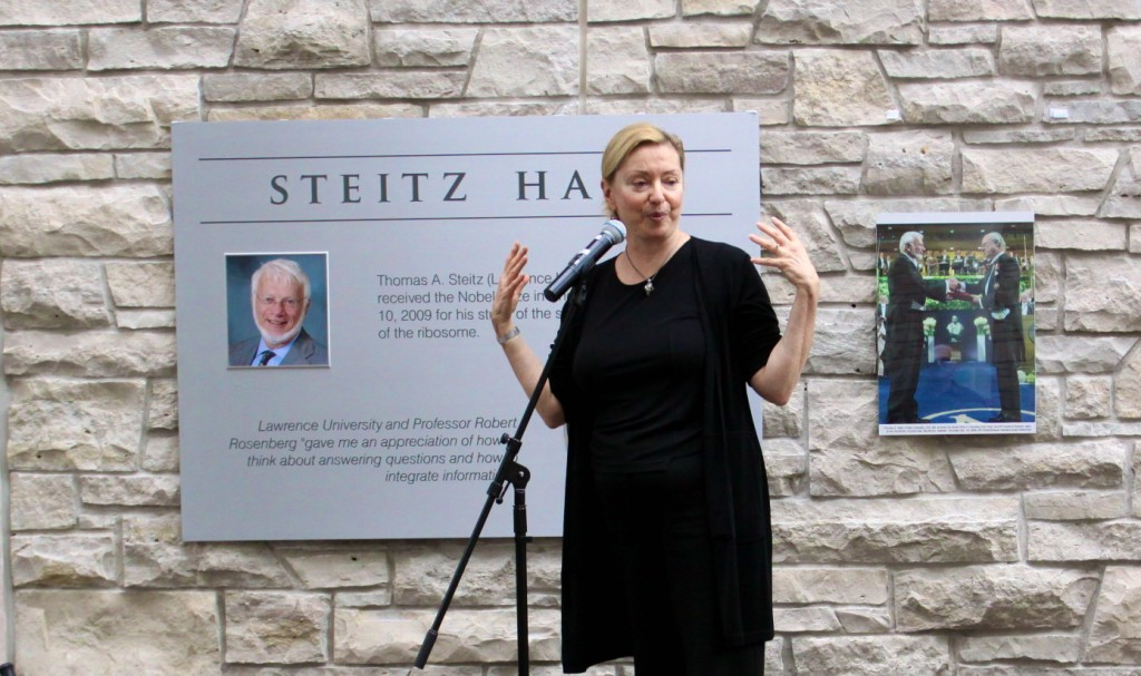 Steitz Hall Dedication