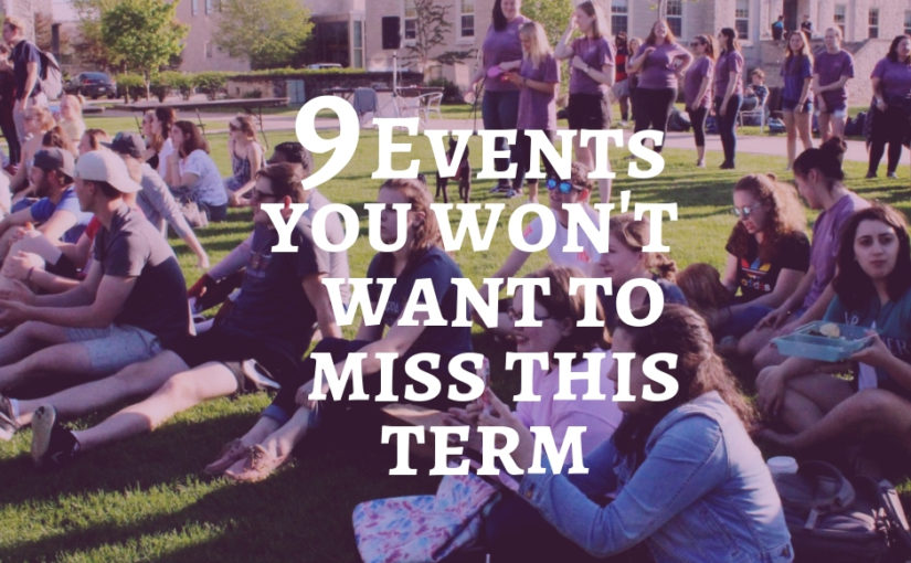 9 events you won't want to miss this term at Lawrence University