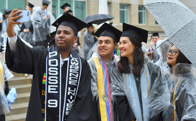 "Lawrence celebrates Class of 2019: ""Don't let fear of failure kill your joy"""