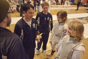 Lawrence's Alex Kaeding was named the Midwest Fencing Conference Coach of the Year.