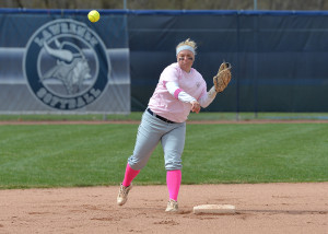 Lawrence shortstop Amanda Jaskolski was named a first-team All-American by the National Fastpitch Coaches Association.