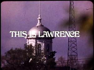 Screenshot from This is Lawrence, 1972
