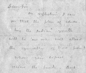 Lawrence letter excerpt, undated