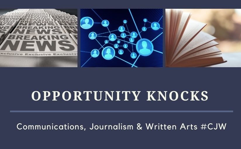 Opportunity Knocks from the Career Center – LU is hiring a Web Communications Fellow!