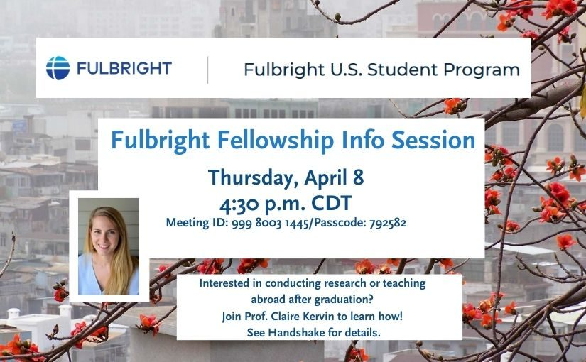 Fulbright Fellowship Info Session