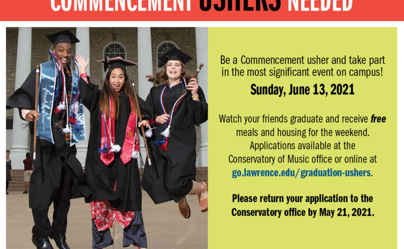 Commencement Ushers
