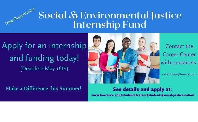 Social & Environmental Justice Internship Fund