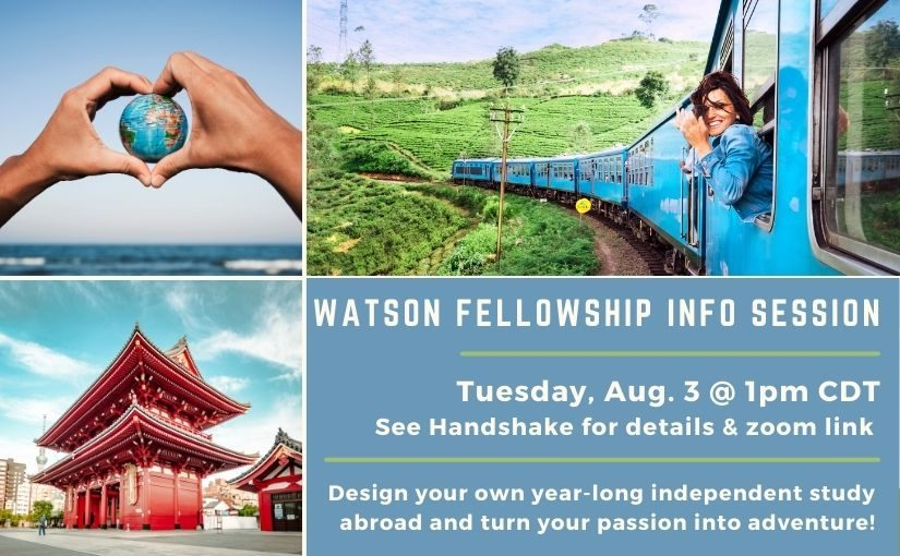 Watson Fellowship Info Session