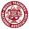 A photo of Music Teachers National Association seal.