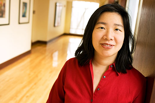 Lan Samantha Chang will receive an honorary degree from Lawrence and serve as the principal speaker at the college's 167th commencement June 12. Photo by Tom Jorgensen.
