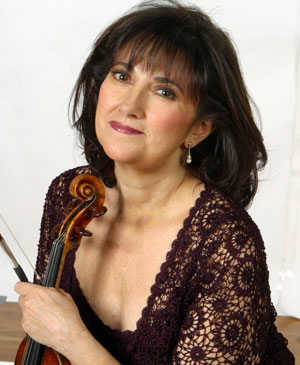 A photo of violinist Ani Kavafian.