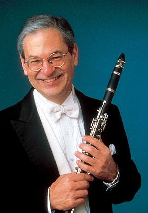 A photo of clarinetist David Shifrin.