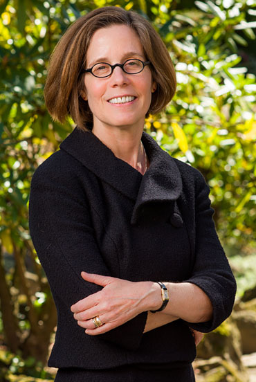 A photo of Lawrence University provost and dean of the faculty and english professor Catherine Gunther Kodat.