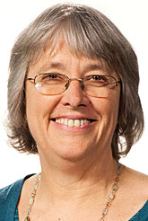 A Head shot of Lawrence University cello professor Janet Anthony.