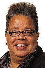 A Head shot of Lawrence University Jill Beck Director of Film Studies and associate professor of film studies Amy Ongiri.