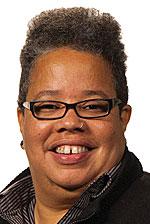 A Head shot of Lawrence University Jill Beck Director of Film Studies and associate professor of film studies Amy Ongiri.