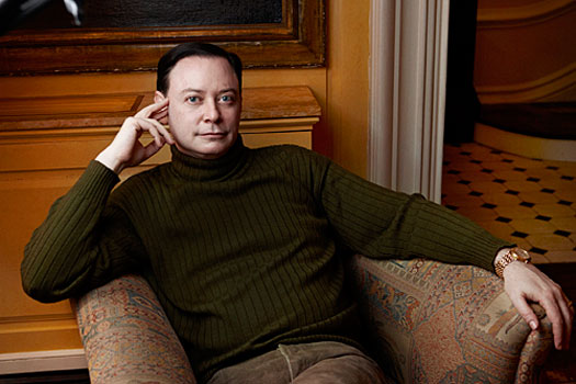 A photo of Award-winning author, lecturer and activist Andrew Solomon.