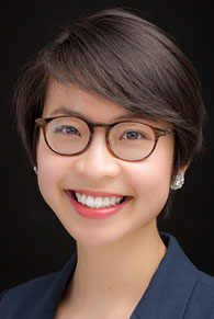 A Head shot of Lawrence University graduate Fanny Lau.