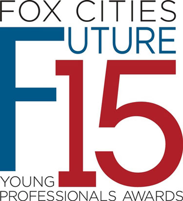A photo of Fox Cities Future 15 Young Professional Awards logo.