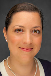 A headshot of Lawrene University director of international student services Leah McSorley.