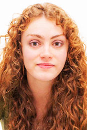 A Head shot of Lawrence University student Oliva Gregorich.