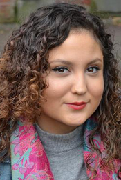 A Head shot of Lawrence University student Stefany Dominguez.