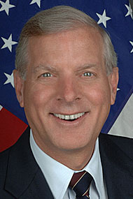 A Head shot of former U.S. Ambassador Christopher Murray.