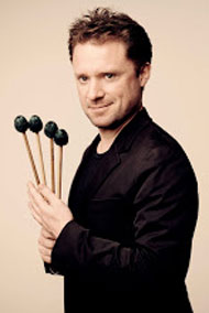 A photo of percussionist Colin Currie.
