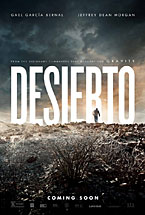 "An image of a poster of the movie ""Desierto"""