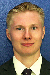 Head shot of Felix Henriksson