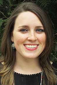 A head shot of Lawrence student Jessica Castleberry