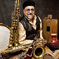 A photo of saxophonist Joe Lovano