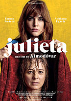 "An image of a poster for the movie ""Julieta"""