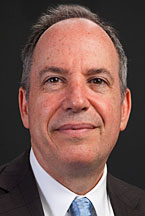 Head shot of Lawrence President Mark Burstein