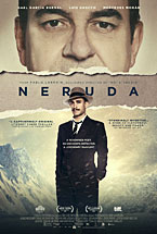 "An image of a poster of the movie ""Neruda"""