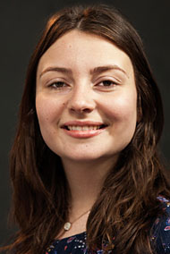 A head shot of Lawrence University student Nina Wilson
