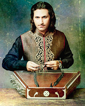 A photo of Indian musician Rahul Sharma