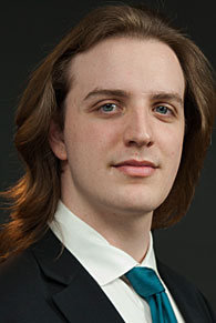A head shot of Lawrence student Sam Buse