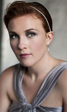 A head shot of singer Sasha Cooke