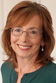 Head shot of author Ann Packer