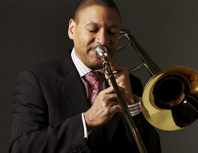 A photo of Delfeayo Marsalis