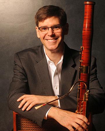 Bassoonist Peter Kolkay