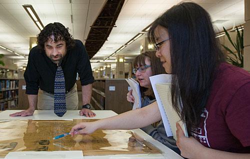 Students with Professor Jake Fredrick