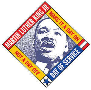 Martin Luther Kind DAy of Service logo