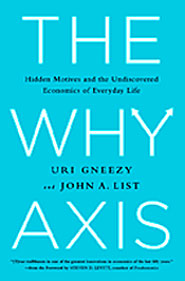 "Book cover of ""The Why Axis"""