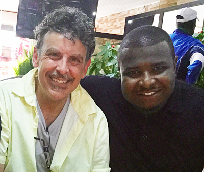 Professor Tim Troy and Momodu Magligi