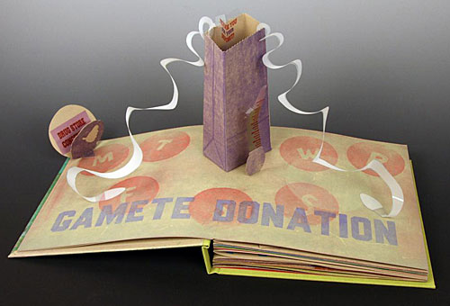 "The pop-up book ""Team Ramey"""