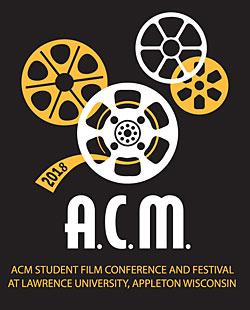 Graphic logo for ACM Film Festival